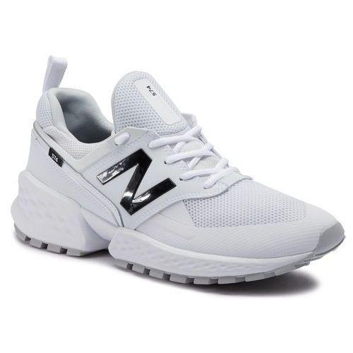 Sneakersy NEW BALANCE - MS574KTC Biały
