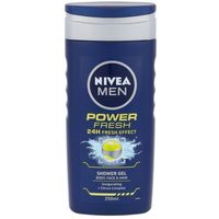 Nivea men power refresh shower gel 250ml m żel pod prysznic