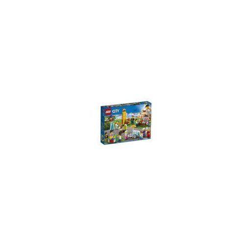 Klocki LEGO City 60234 Wesołe miasteczko Zestaw minifigurek