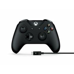 MICROSOFT Kontroler Xbox One + kabel PC Bluetooth