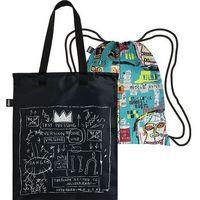 Torba i plecak w zestawie loqi museum jean michel basquiat warhol