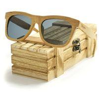 Drewniane okulary przeciwsłoneczne Niwatch Dorado Grey