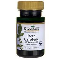 SWANSON Beta Carotene- Beta Karoten, 100 tabl