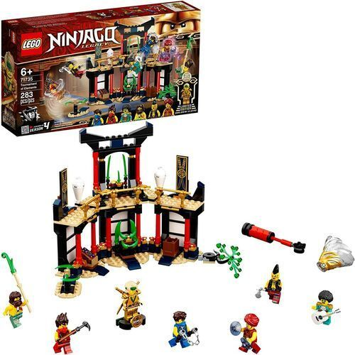 71735 TURNIEJ ŻYWIOŁÓW (Tournament of Elements) KLOCKI LEGO NINJAGO