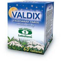 Tabletki Valdix (Korzeń kozłka) tabl. 0,4g 60tabl.(