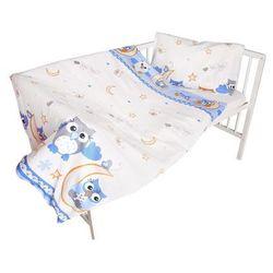 Cosing 2-częściowy zestaw pościeli dziecięcej comfort - sowa, niebieski