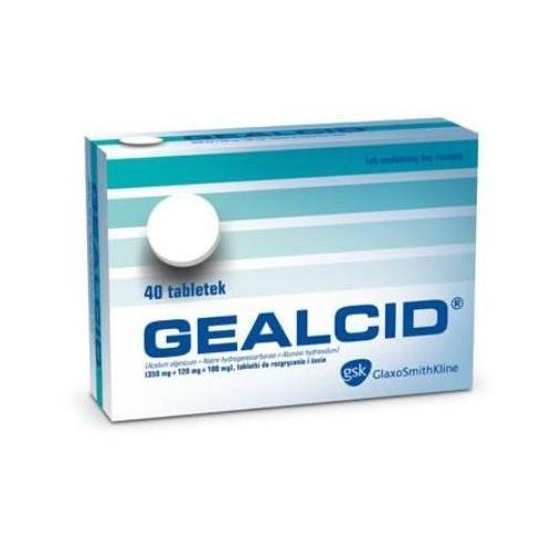 Tabletki GEALCID x 40 tabletek