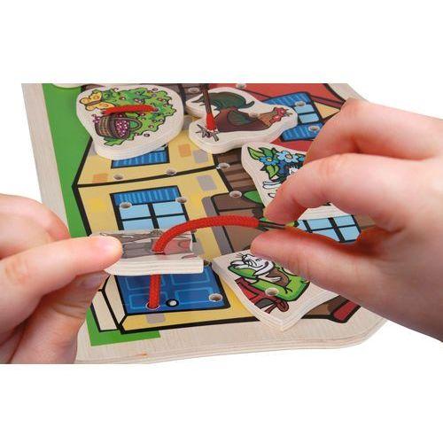 Układanka - przeplatanka 10 elementów marki Simba