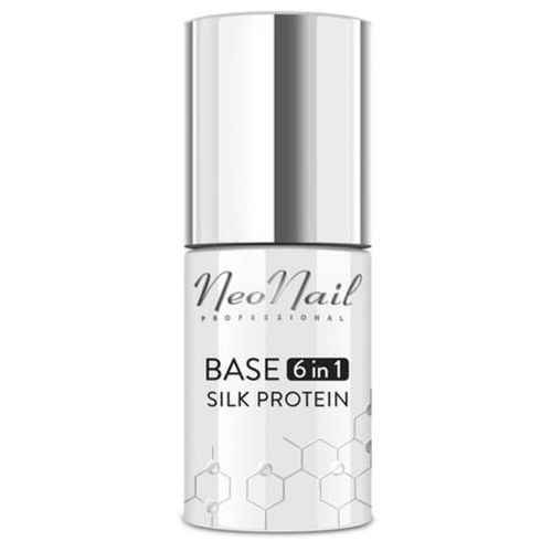 Neonail base 6in1 silk protein baza proteinowa 6 w 1 do lakieru hybrydowego (7,2 ml)