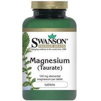 Tabletki Swanson Taurynian Magnezu 100mg 120 tabl.