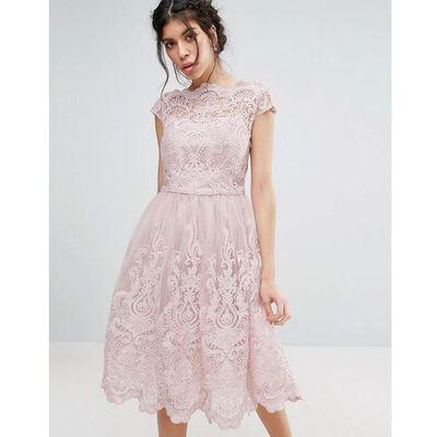 1f7339ba suknie sukienki chi chi london petite high neck midi prom dress navy ...