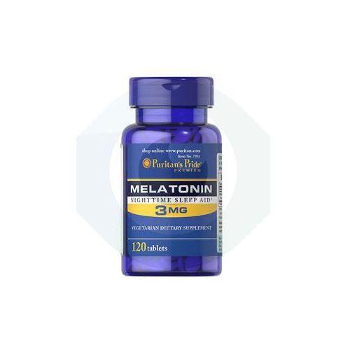 MELATONINA 3 mg - 120 TABLETEK sen bezsenność