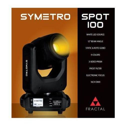 Fractal symetro spot 100 - głowica ruchoma typu spot