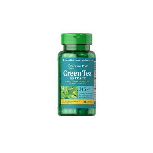 Kapsułki Zielona Herbata - odchudzanie w zgodzie z naturą - Ekstrakt 315 mg / 100 kaps