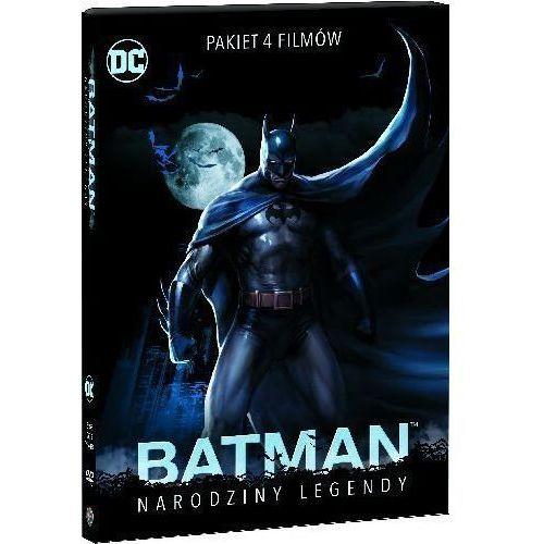Pakiet: Batman: Narodziny legendy (DVD) - Oliva Jay, Liu Sam DARMOWA DOSTAWA KIOSK RUCHU