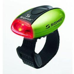 Sigma lampka rowerowa micro tylna - zielona