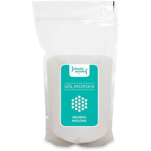 Sól morska drobno mielona BIO 1kg- Skarby Oceanu (5907814664181)