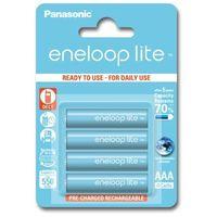 Panasonic Eneloop LITE AAA 550 mAh 3000 cykli 4szt., 154005