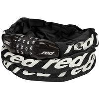 Red Cycling Products Secure Chain Łańcuch rowerowy z zamkiem resetowalny, black 2020 Łańcuchy Przy złożeniu zamówienia do godziny 16 ( od Pon. do Pt., wszystkie metody płatności z wyjątkiem przelewu bankowego), wysyłka odbędzie się tego samego dnia.