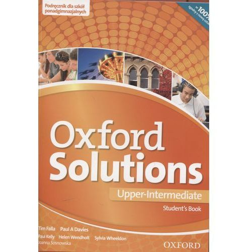 Oxford Solutions Upper Intermediate Student's Book wieloletni (2016)