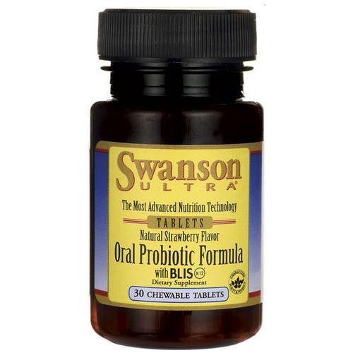 Swanson Probiotyczna formuła dla jamy ustnej 30 tabl