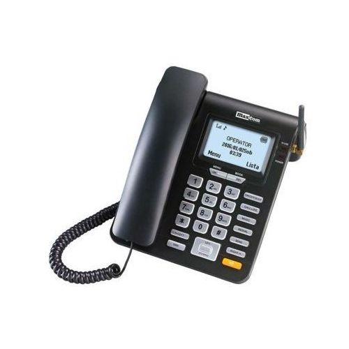 Maxcom Telefon mm28dhs czarny
