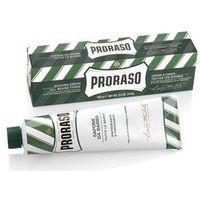 PRORASO Green Shaving Soap In A Tube pianka do golenia 150 ml dla mężczyzn