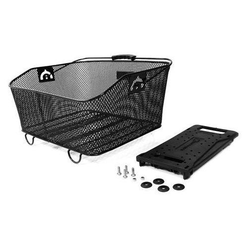 Author 15-290020 koszyk rowerowy carry more na bagażnik, czarny