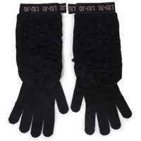Rękawiczki Damskie LIU JO - Guanti Maglia Goffra 269051 M0300 Nero 22222