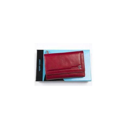 4824e4ec2caf1 Portfel skórzany Pierre Cardin 507.7 356 czerwony, 507.7 356 czerwony