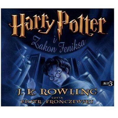 Harry Potter i Zakon Feniksa CD mp3 (audiobook), MEDIA RODZINA