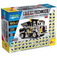 Lisciani Zestaw konstrukcyjny hi-tech pojazdy konstrukcyjne 50w1 (8008324073344)
