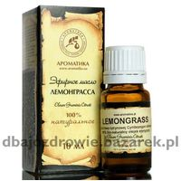 NATURALNY OLEJEK LEMONGRASOWY, 5 ml, AROMATIKA