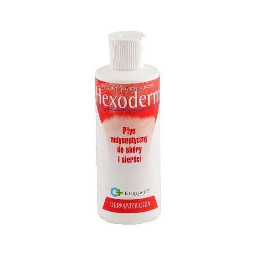 hexoderm szampon antybakteryjny i przeciwgrzybiczy dla psów i kotów 200ml/500ml marki Eurowet