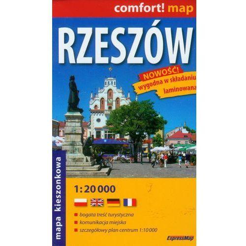 Comfort!map Rzeszów 1:20 000 midi plan miasta, praca zbiorowa