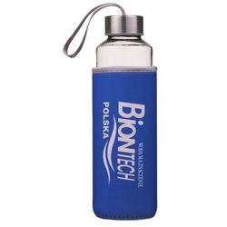 Butelka szklana na wodę 0,5l Bidon BPA free
