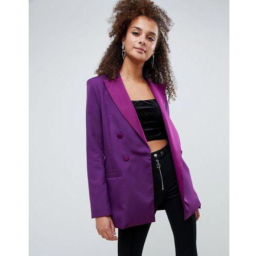blazer in purple - purple, Bershka, 34-38