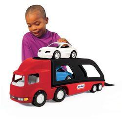 Little Tikes Ciężarówka laweta z samochodami czerwona