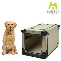 Maelson přepravka soft kennel černá / béžová vel. 92