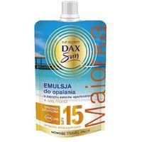 Dax Sun SPF15 Majorka 50ml emulsja do opalania