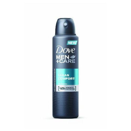 Unilever Dezodorant dove men plus care clean comfort antyperspirant w sprayu 150 ml (8717644579107)