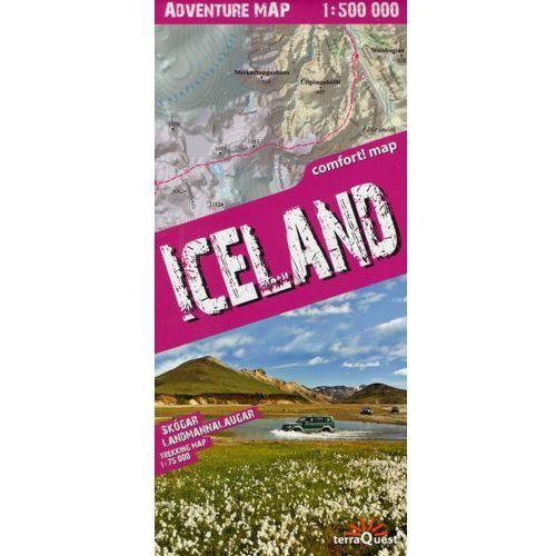 Iceland adventure map 1:500 000 (laminat) w.2016
