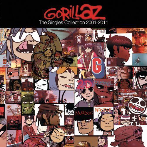 GORILLAZ - THE SINGLES 2001-2011 (CD)