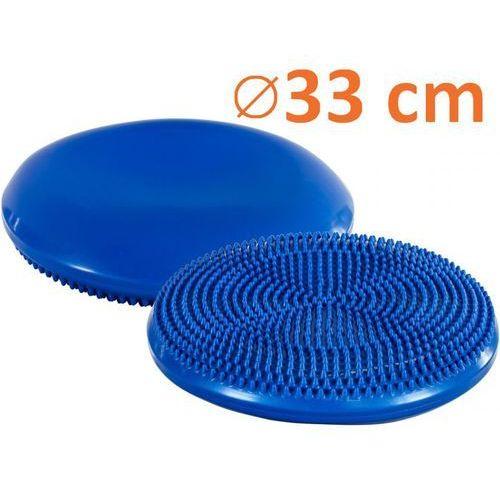 Poduszka do ćwiczeń równoważnych MOVIT Ø 33 cm niebieska