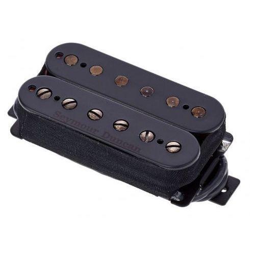 Seymour duncan nazgul bk 6 str nazgul, przetwornik do gitary typu humbucker do montażu przy mostku, 6-strun czarny