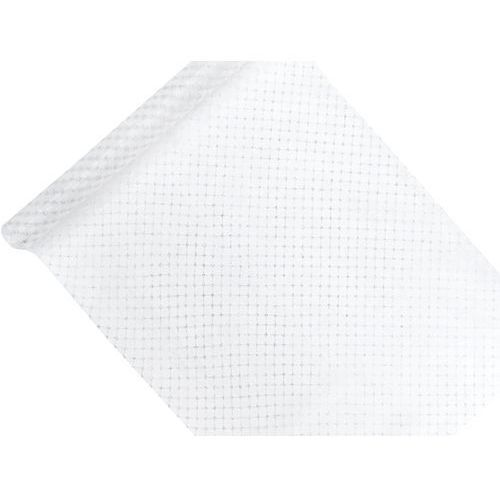 Party deco Organza biała ze srebrnym nadrukiem - 48 cm x 9 m. (5901157471000)