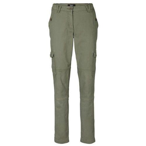 Spodnie szyfonowe czarny marki Bonprix