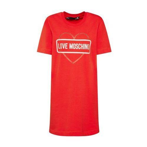 Love Moschino Sukienka 'Abito' czerwony (8050326573995)