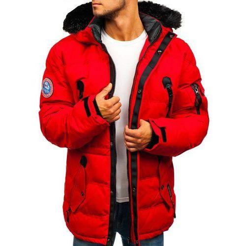 d7b9048942fdf Kurtka męska zimowa narciarska czerwona Denley 5423 (NATURE) - sklep ...
