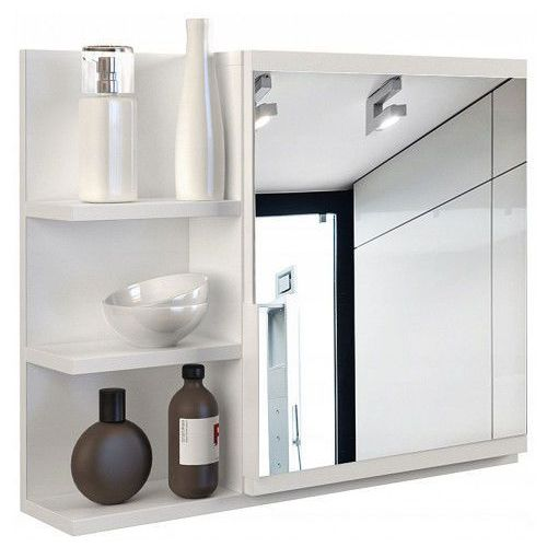 Lustro Do łazienki Lexi 3x Białe Producent Profeos